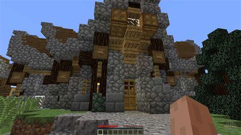 fantasy nordic mansion  minecraft