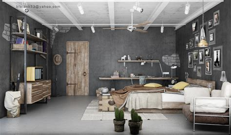 inspirerende industriele slaapkamers roomed