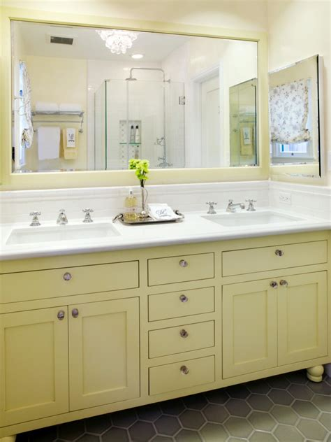 yellow bathroom ideas hgtvs decorating design blog