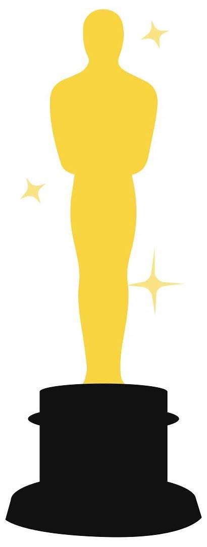 Clipart Oscar Oscars Silhouette Clip Transparent Academy