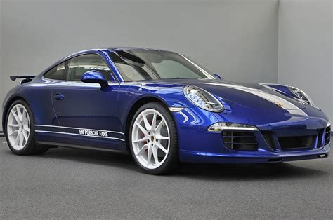 porsche custom paint custom porsche 911 carrera 4s marks 5 million facebook fans
