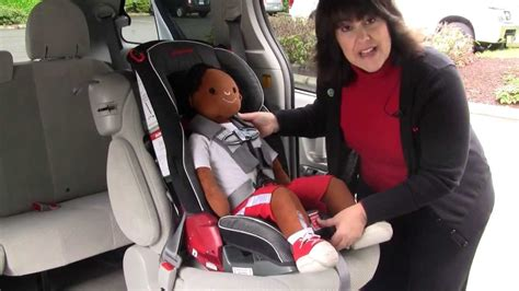 Adjusting The Harness Straps On A Diono Car Seat With