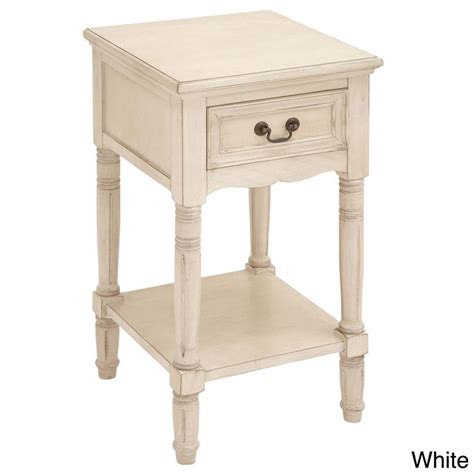 cheap white night tables casa cortes antiqued white solid wood night stand