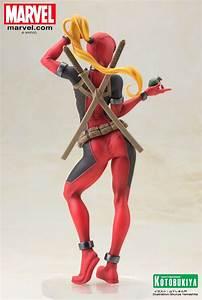 Kotobukiya Lady Deadpool Statue | Deadpool Bugle