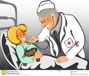 Doctor And Child Patient Clipart - ClipartXtras