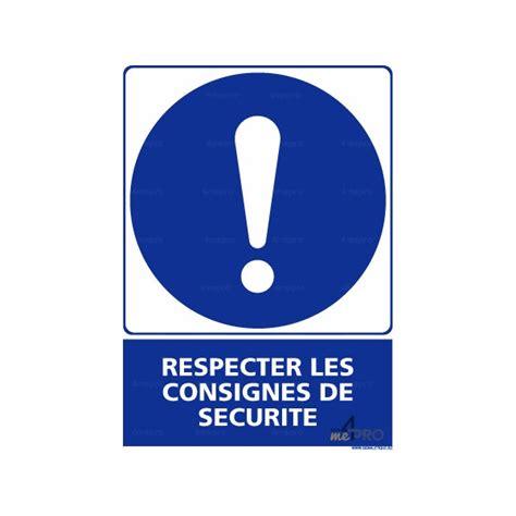 bureau controle batiment panneau rectangulaire respecter les consignes de sécurité 2