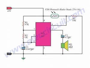 2 Light Detector Circuits Using Ic