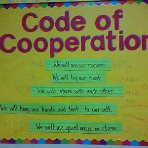 Classroom Conduct Chart Lots Of Examples Of Codes Personalized Learning Coding