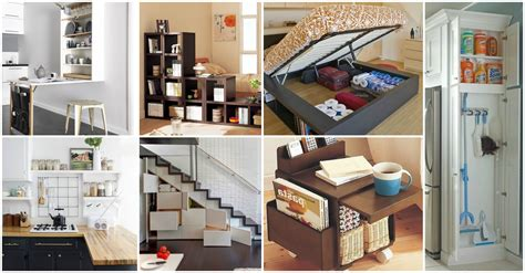 remarkable ideas    storage   small home