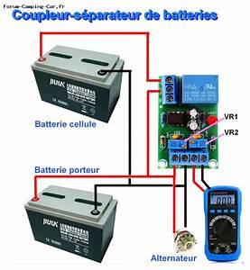 Coupleur Separateur Batterie Camping Car : module lectronique coupleur s parateur 10a ~ Medecine-chirurgie-esthetiques.com Avis de Voitures