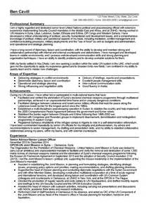 american style resume exle career objective resume