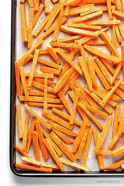 Sweet Fries Potato Parmesan Baked Gimme Oven