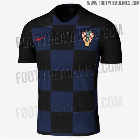 Croatia World Cup Away Kit Leaked Footy Headlines