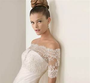 dress of the week rosa clara wedding tops belle the With wedding dress lace top