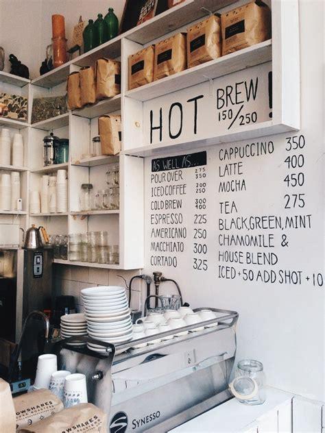15 unique coffee shop menu ideas. Coffee shop design   VSCO   jorgeq (com imagens)   Padaria e confeitaria, Interiores de lojas ...