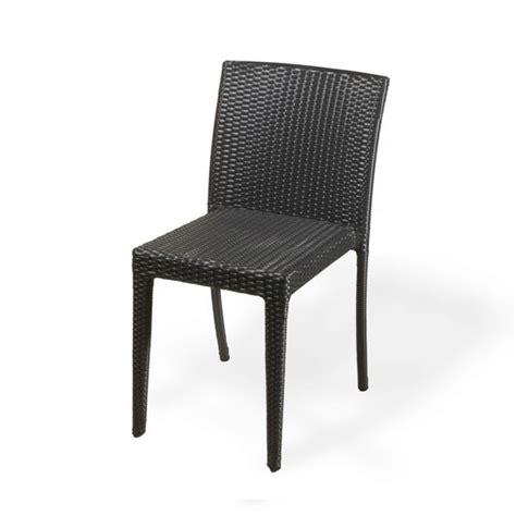 chaise en résine tressée chaise de jardin resine tressee wicker