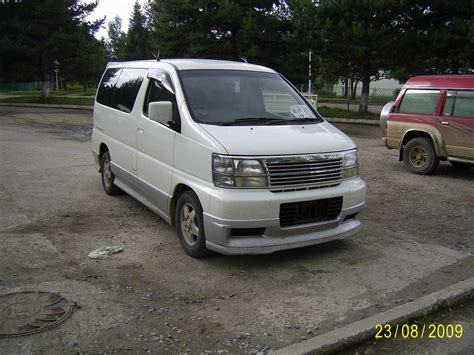 Nissan Elgrand Photo by 2000 Nissan Elgrand Photos 3 0 Diesel Automatic For Sale