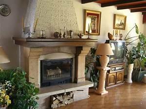 Repeindre Une Cheminée : relooker une cheminee classique sr47 jornalagora ~ Voncanada.com Idées de Décoration