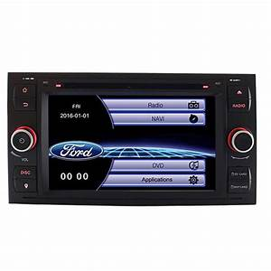 Car Dvd Player Gps Navigation For Ford Focus C Max Fiesta