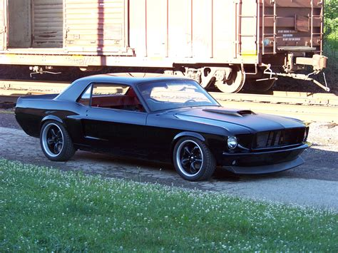 1968 Ford Mustang Coupe  Bent Metal Customs