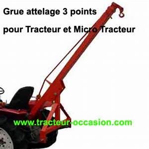 Attelage 3 Points : grue arriere de levage sur 3 points tracteur biagioli ~ Voncanada.com Idées de Décoration