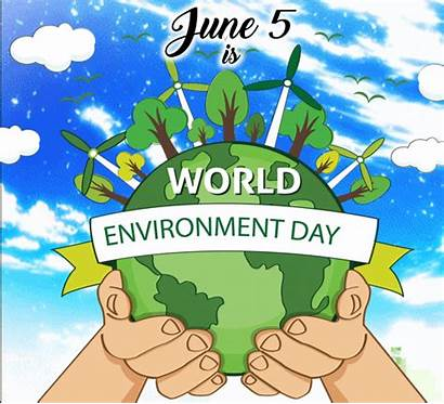 Environment June Greetings Card Events