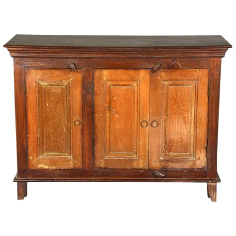 Wood Sideboard Cabinet by Two Tone Reclaimed Wood Sideboard Buffet Cabinet