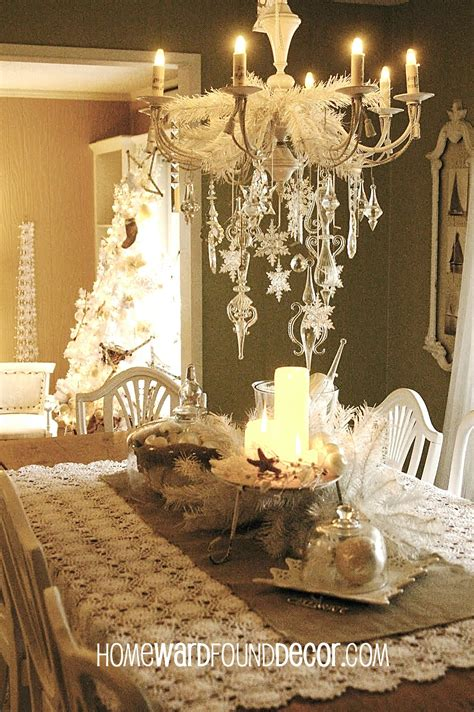 vintage christmas decor a vintage white christmashomewardfounddecor