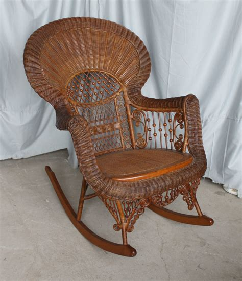 Admirable Arts Crafts Oak Rocking Chair Heywood Wakefield Antique Ncnpc Chair Design For Home Ncnpcorg