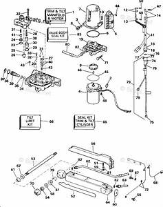 Omc Sterndrive Parts 5 0 Liter Oem Parts Diagram For Power