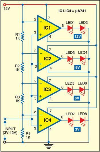 led voltmeter note    lm