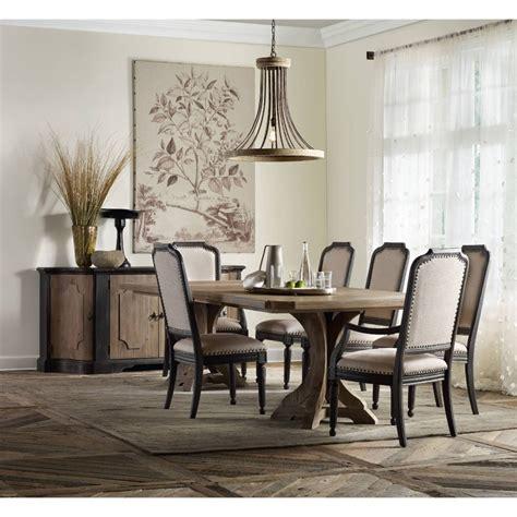 rectangular pedestal dining room table decor market corsica rectangle pedestal dining table