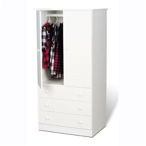Armoire Closet White by Keep Large Amount Of Clothes Organized The Best Armoire