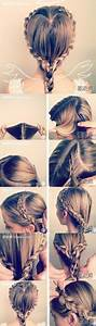 How To Make Lovely Angel Hair Style Step By Stey Diy