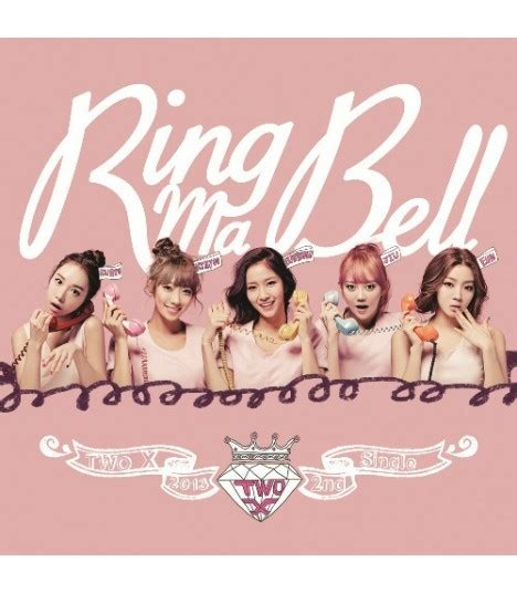 Möbel Second by Two X 투엑스 2nd Single Album Ring Ma Bell 233 Dition