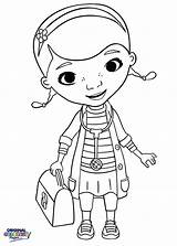 Coloring Mcstuffins Doc Pages Doctor Printable Stethoscope Preschool Nurse Mcstuffin Practical Getcolorings Drawing Google Unlimited sketch template