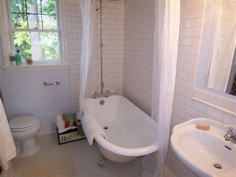 bathroom designs with clawfoot tubs 1000 images about small bathroom remodel ideas on