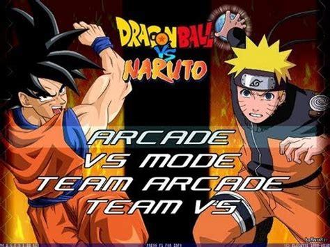 anime fight naruto edition apk video clip hay dragon ball z vs naruto mugen edition by