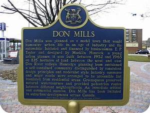 Don Mills Historical Plaque