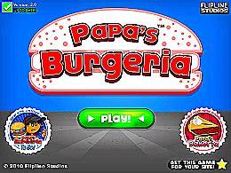 jeux de cuisine de papa louie papa s burgeria un des jeux en ligne gratuit sur jeux jeu fr