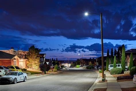 El Paso TX Postlite II LED Sustainability - Acuity Brands