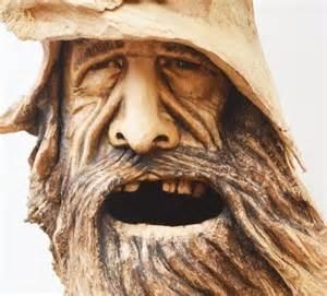 Mountain Man Wood Spirit Carvings
