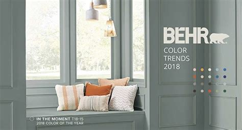 behr color of the year 2018 home design