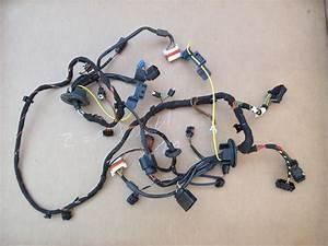 07 Porsche 911 Turbo 997  1031 Front Headlight Wire Wiring