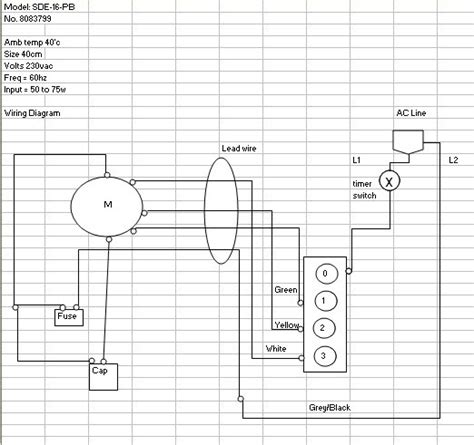 Edmat Electric Fan Wiring Diagram