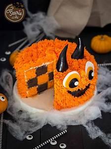 Gateau D Halloween : le g teau damier monster cake cake design pinterest halloween recette gateau halloween et ~ Melissatoandfro.com Idées de Décoration