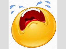 Crying emoticon — Stock Vector © yayayoyo #14382605
