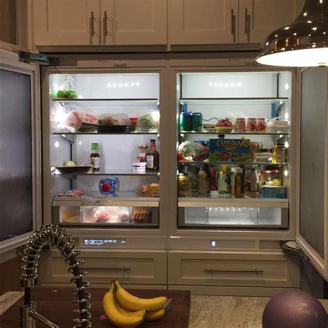 pic house  upgraded ge monogram refrigerator  custom panel doors  conseal