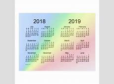 Postal 20182019 School Year Mini Calendar by Janz Zazzlees