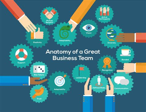 Anatomy of a great business team [Infographic]